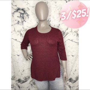 💖3/$25💖 Warehouse One Long Sleeve Top Women XL